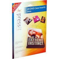 Pressit A4 DVD Case Inserts Pack of 20