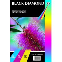 Black Diamond 6x4r (100mm x 150mm) 210gsm Gloss Paper