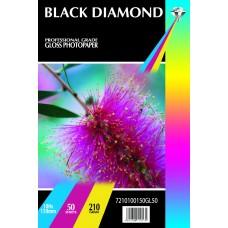 Black Diamond 6x4r (100mm x 150mm) 210gsm Gloss Paper