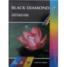 Black Diamond 6x4r (100mm x 150mm) 180gsm Matte Paper