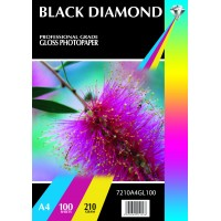 Black Diamond A4 210gsm Gloss