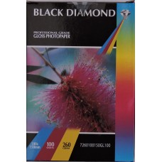 Black Diamond 6x4r (100mm x 150mm) 260gsm Gloss Photo Paper