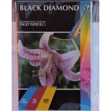 Black Diamond 6x4r (100mm x 150mm) 300gsm R C Gloss Paper