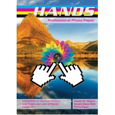 Hands Professional A4 180gsm Double Sided Matt / Matte Photo Paper