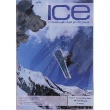 ICE A4 190gsm Fine Art Textured Matte Photo Paper