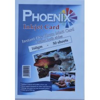 Phoenix A4 160gsm A4 Double Sided Photo Matt/ Matte Card