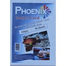 Phoenix A4 160gsm A4 Double Sided Photo Matt/ Matte Card