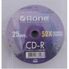 Aone Logo (Non Printable) CDR 52X 80 Min 700mb