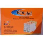 Non OEM Compatible Projet Cartridges T551 T552 T553 T554