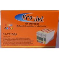 Non OEM Compatible Projet Cartridges T711, T712, T713, T714