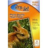 6x4 Projet 185gsm Glossy Photo Paper
