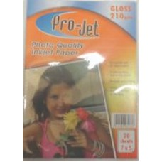 7x5 Projet 210gsm Glossy Photo Paper