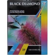 7x5 200gsm Black Diamond Gloss Photo Paper