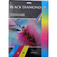 A3 260gsm Black Diamond Gloss Inkjet Paper