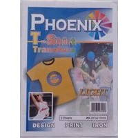 A4 Phoenix T-Shirt Transfer Paper - Light
