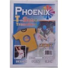 A4 Phoenix T-Shirt Transfer Paper - Light