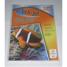A4 Projet 240gsm Glossy Photo Paper
