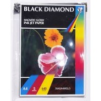Black Diamond 640gsm Magnetic Glossy