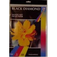 Black Diamond 640gsm Magnetic Matte