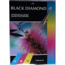 Black Diamond A3 180gsm Gloss Inkjet Paper
