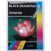 Black Diamond A3 180gsm Matte (Matt) Inkjet Paper