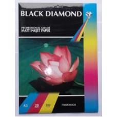 Black Diamond A3 180gsm Matte (Matt) Inkjet Paper