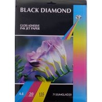 Black Diamond A4 135gsm Self Adhesive Gloss Photo Paper