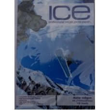 ICE A4 108gsm / 110gsm Single Sided Matte / Matt Photo Paper