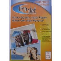Projet 6x4 255gsm Gloss / Matte (Matt) Photo Paper
