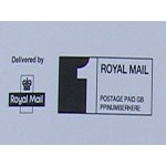 Royal Mail Printed PPI Labels 1st Class or 2nd Class