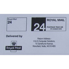 Royal Mail Printed PPI Labels 24 or 48