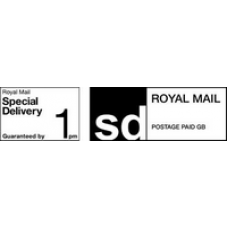 Royal Mail Printed PPI Labels Special Delivery Guaranteed by 9AM or 1PM