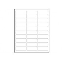 Blank Address Labels (100 Sheets)