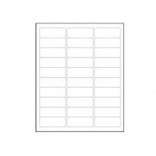 8 Per Sheet Blank Address Labels (100 Sheets)